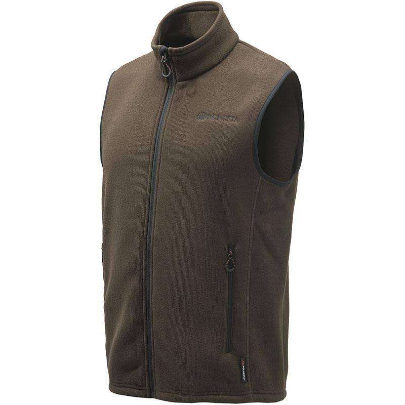 Polaire Sans Manche Homme Beretta Polartec B-Active Vest Polaire - Marron