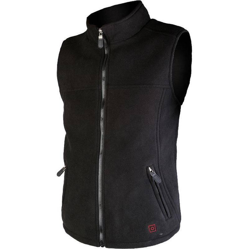 Polaire Sans Manche Homme Thermo Jacket Chauffante - Noir