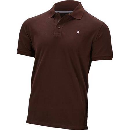 Polo Homme Browning Ultra 78 - Marron