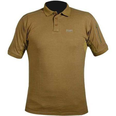 POLO HOMME HART IVORY POLO SHIRT - COYOTE