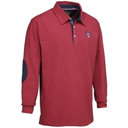 Polo Manches Longues Homme Ligne Verney-Carron Casual - Rouge