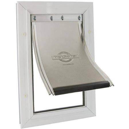 Porte Pour Chat Et Chien Staywell Aluminium