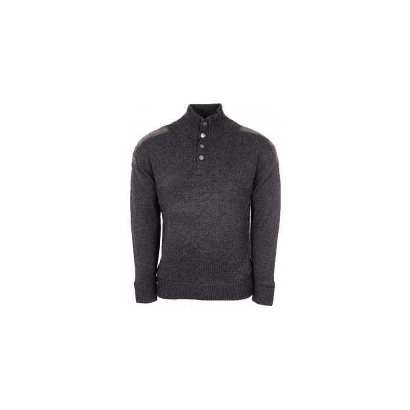 Pull Homme Bartavel Double Jersey  P53 - Anthracite