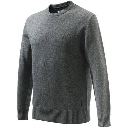 Pull Homme Beretta Devon Crewneck Sweater - Gris