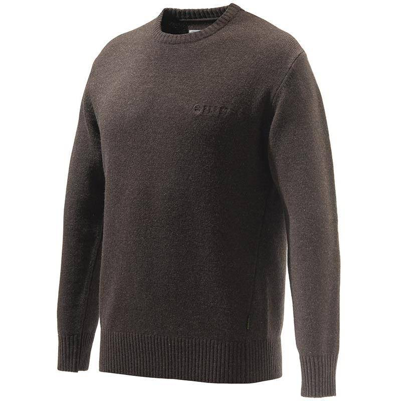 Pull Homme Beretta Devon Crewneck Sweater - Marron