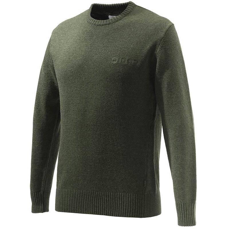 Pull Homme Beretta Devon Crewneck Sweater - Vert