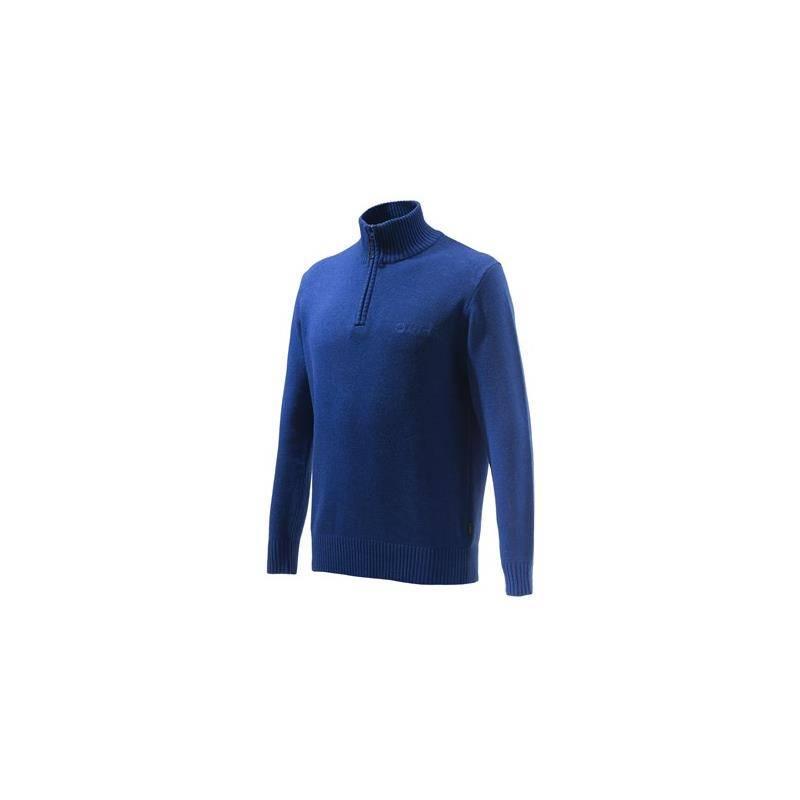 Pull Homme Beretta Dorset Half Zip Sweater - Bleu