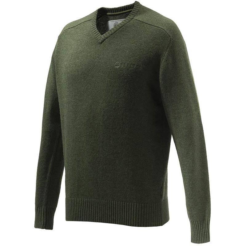 Pull Homme Beretta Somerset V-Neck Sweater - Vert