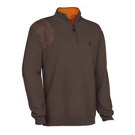 Pull Homme Club Interchasse Wilfried - Marron
