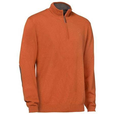 Pull Homme Club Interchasse Winsley - Rouille