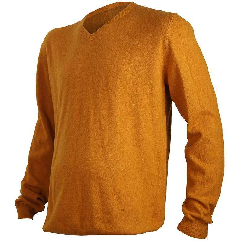 PULL HOMME SOMLYS 134 CLASSIE - MOUTARDE - XXXL