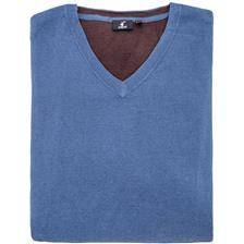 Pull homme stagunt mallard blue indigo - bleu