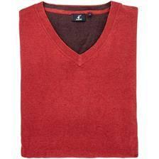 Pull homme stagunt mallard red ochre - rouge