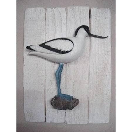 Sculpture Demi-Coque Cap Vert Avocette