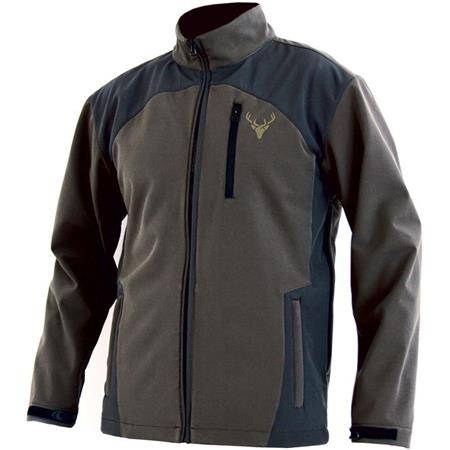 Softshell Homme North Company Strong - Marron/Vert