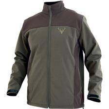 Softshell homme north company trophy - vert/marron