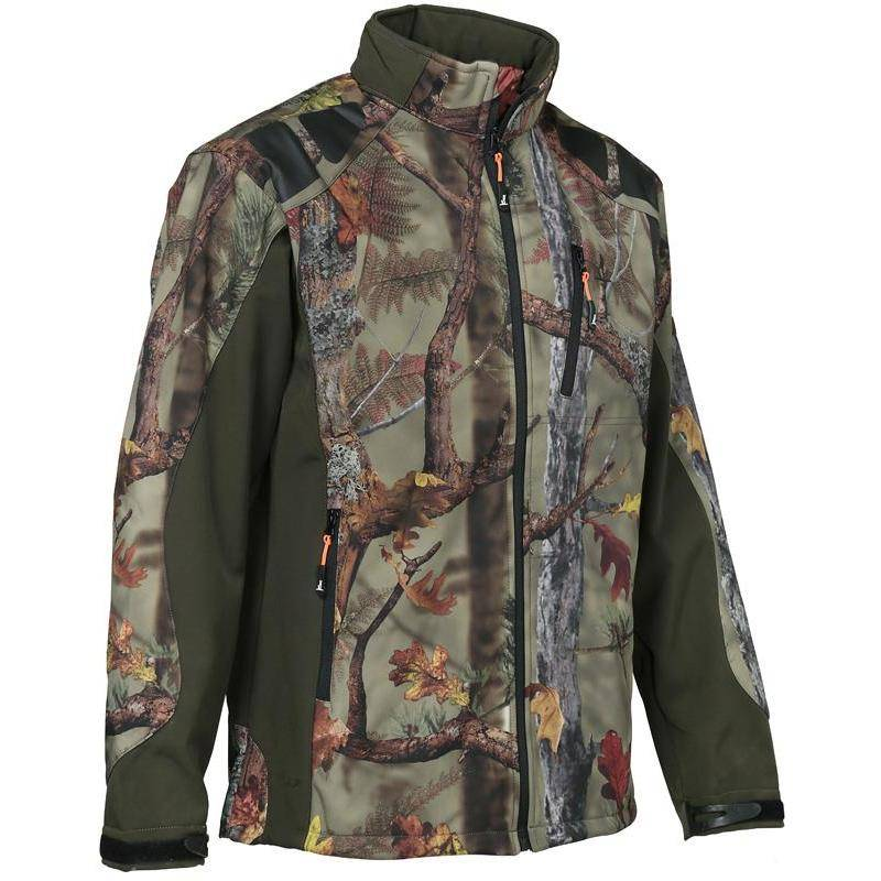 Softshell Homme Percussion Softshell - Ghost Camo Forest