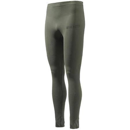 Sous Vetement Homme Beretta Merino Base Layer Pants - Vert