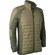 Sous vetement homme deerhunter oslo padded inner jacket - dusty green