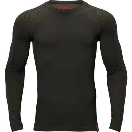 Sous Vêtement Homme Harkila Col Rond Base Active - Noir