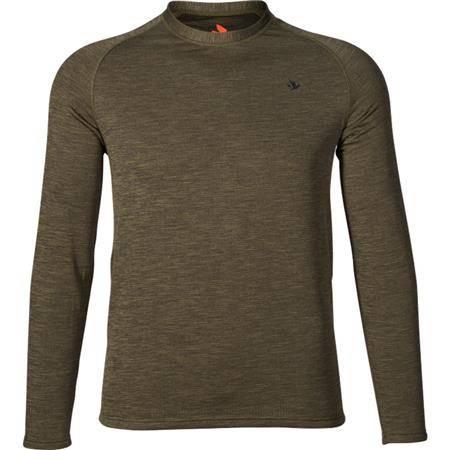 Sous Vêtement Homme Seeland T-Shirt Active L/S - Vert