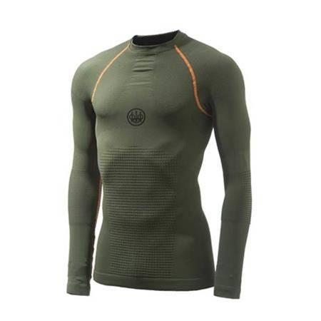 Sous-Vêtement Mixte Beretta Body Mapping 3D L/S - Vert