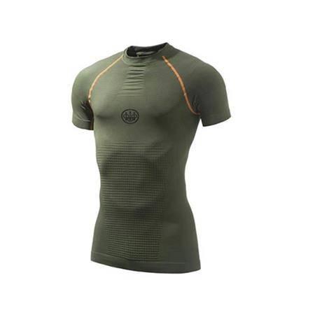 Sous-Vêtement Mixte Beretta Body Mapping 3D S/S - Vert
