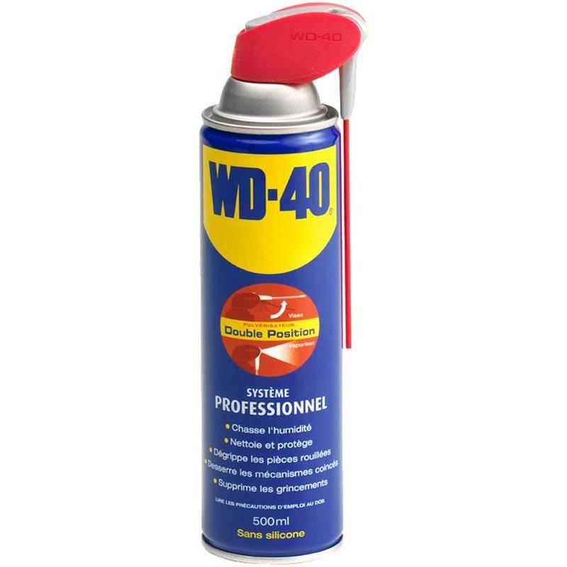Spray Wd-40 Avec Tete Pro 2 Jets