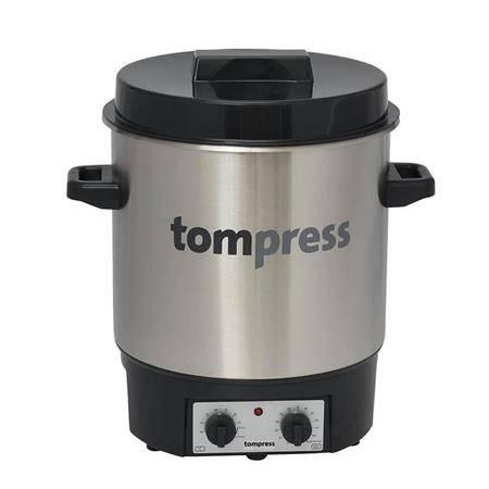Sterilisateur Electrique Tom Press Avec Minuterie - Inox