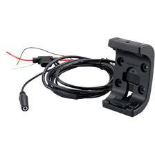 Support moto garmin avec cable d'alimentation audio