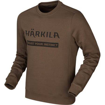SWEAT HOMME HARKILA - MARRON