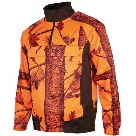 Sweat Homme Treeland T291 Polarsan - Camo Orange