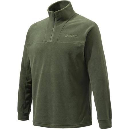 Sweat Polaire Homme Beretta Half Zip Fleece - Vert
