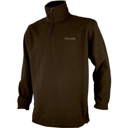 SWEAT POLAIRE HOMME TREELAND T297 - MARRON