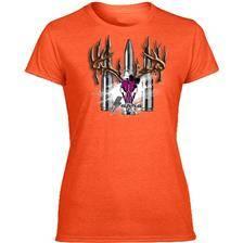 Tee shirt manches courtes femme supra - orange