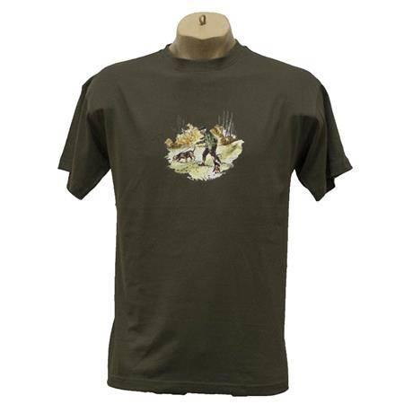 Tee Shirt Manches Courtes Homme Bartavel Humour - Noir