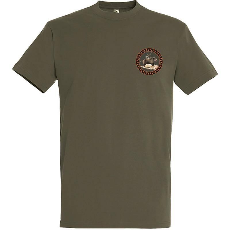 Tee Shirt Manches Courtes Homme Bartavel Petit Solitaire - Kaki