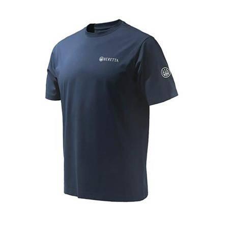 Tee Shirt Manches Courtes Homme Beretta Beretta Team Ss - Bleu
