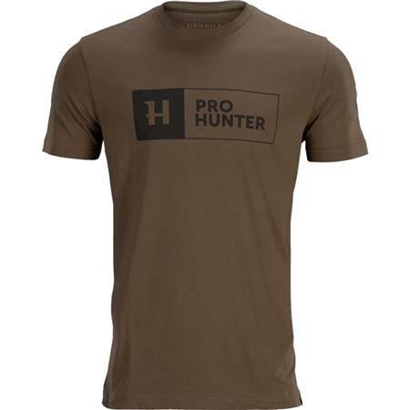 Tee Shirt Manches Courtes Homme Harkila Pro Hunter S/S - Marron