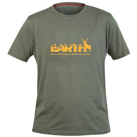 Tee Shirt Manches Courtes Homme Hart B.Earth - Olive