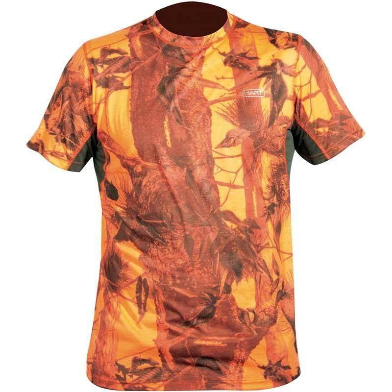 Tee Shirt Manches Courtes Homme Hart Crew-S - Camo Blaze