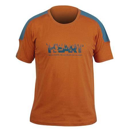 Tee Shirt Manches Courtes Homme Hart Heart - Orange