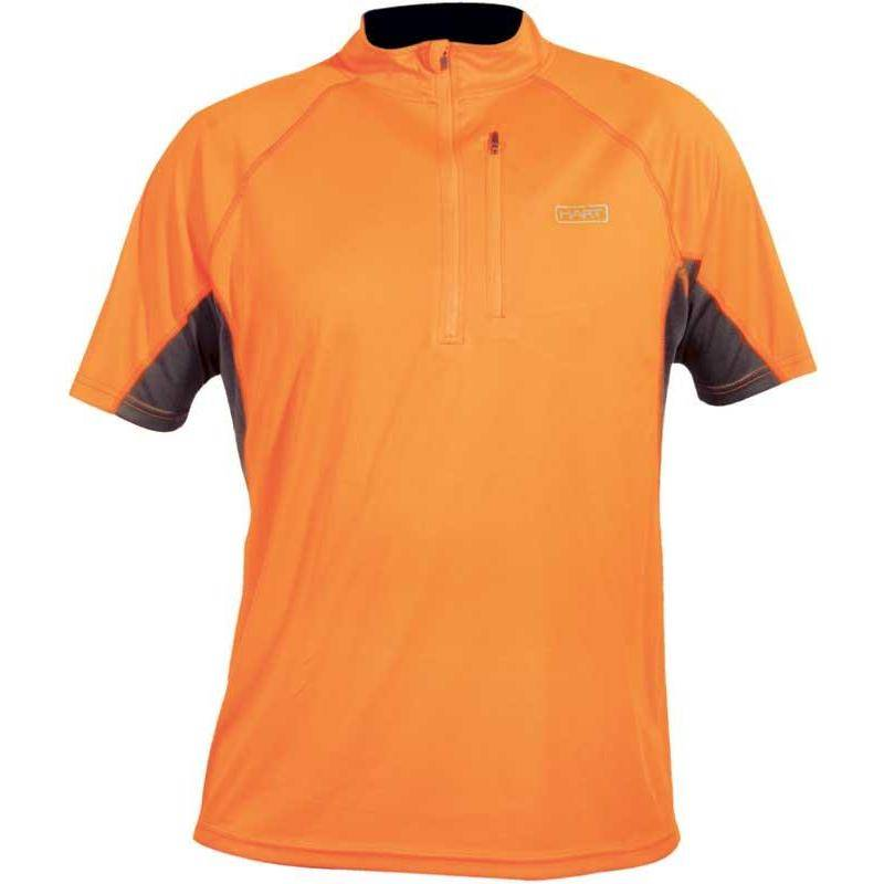 Tee Shirt Manches Courtes Homme Hart Iron2-Ps - Orange