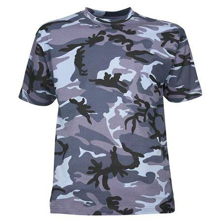 Tee Shirt Manches Courtes Homme Idaho - Bleu