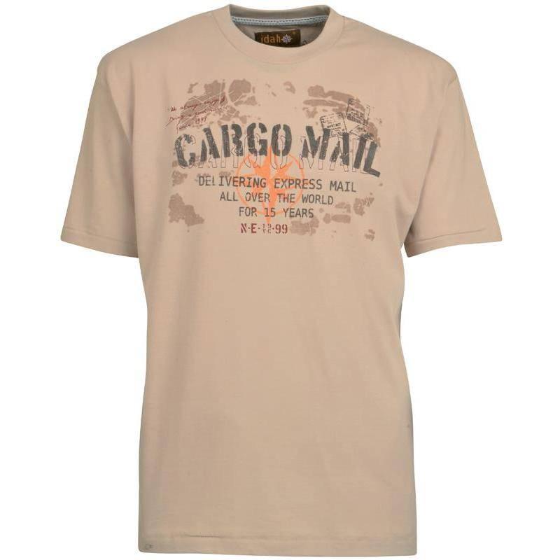Tee Shirt Manches Courtes Homme Idaho Cargo - Beige