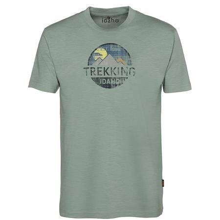 Tee Shirt Manches Courtes Homme Idaho Fresh - Vert