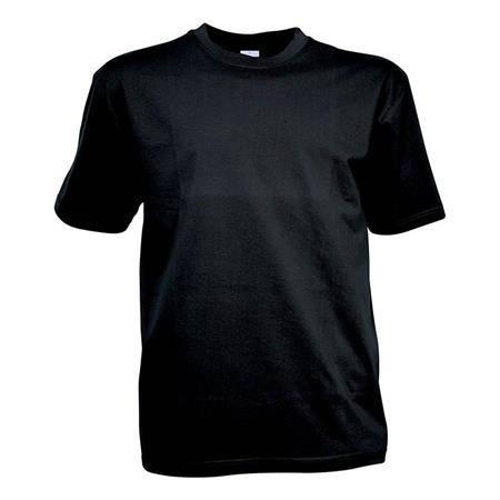 Tee Shirt Manches Courtes Homme Idaho - Noir