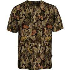 Tee shirt manches courtes homme percussion ghostcamo barkam - camo