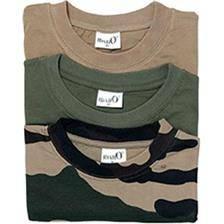 Tee shirt manches courtes homme percussion unis + camo - par 3