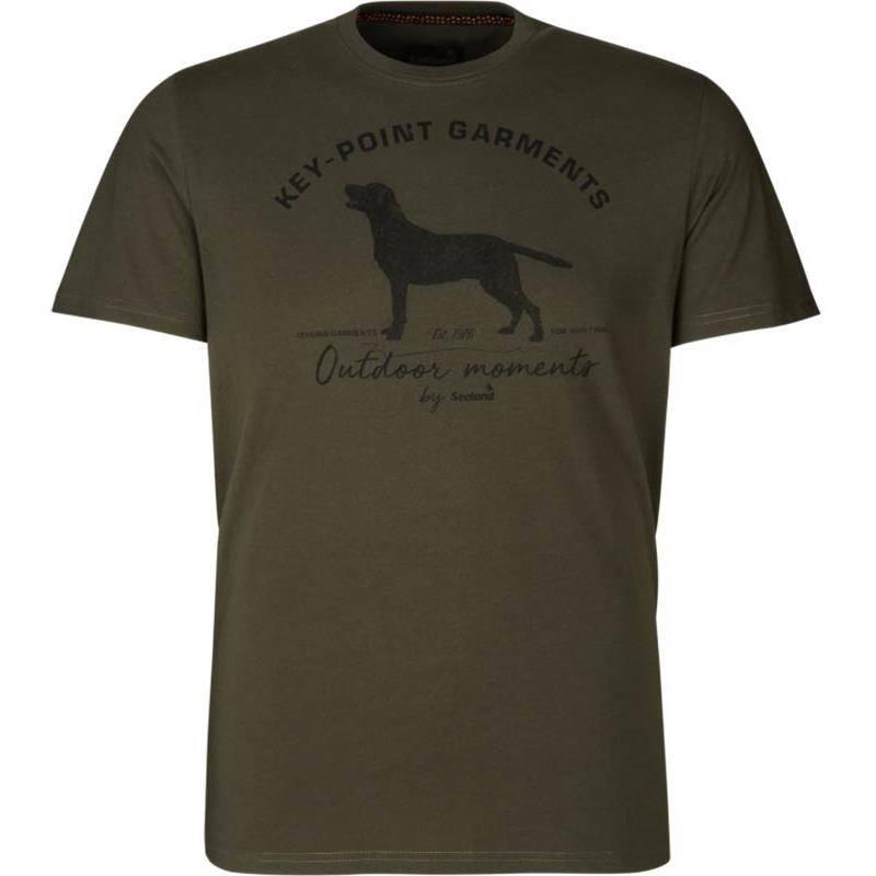 Tee Shirt Manches Courtes Homme Seeland Key-Point - Vert